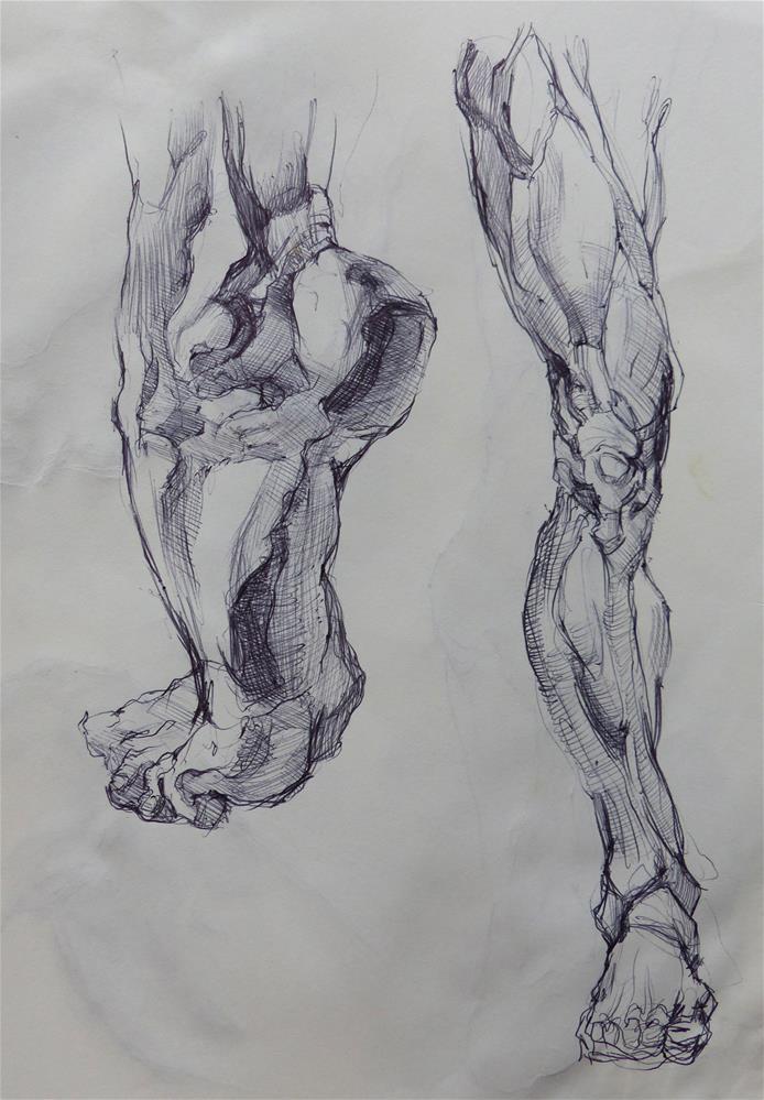 """sketchbook87"" original fine art by Katya Minkina"