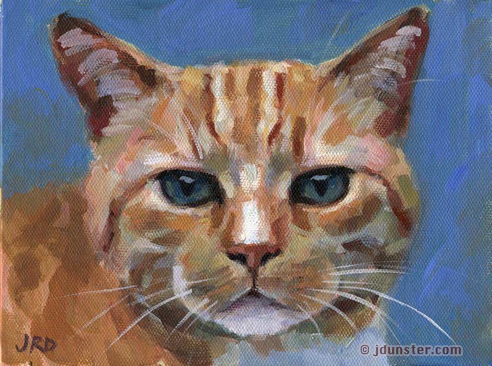 """His Royal Orangeness"" original fine art by J. Dunster"