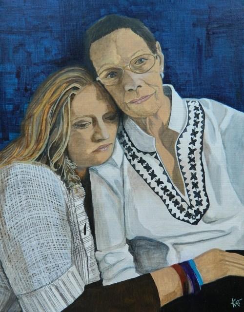 """""""Be Still My Heart"""" original fine art by Kathleen Carrier"""