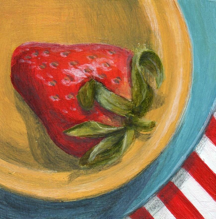 """Slide Over"" original fine art by Debbie Shirley"