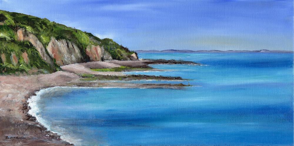 """Coastal View"" original fine art by Janet Graham"