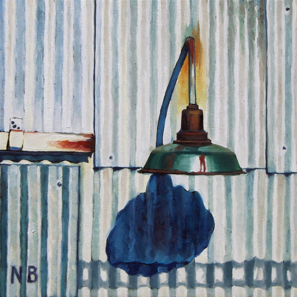 """""""Corrugated"""" original fine art by Nora Bergman"""
