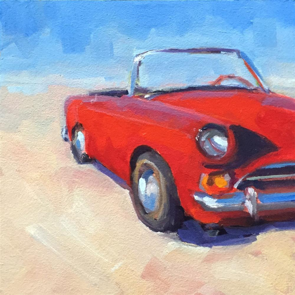 """Sunbeam"" original fine art by Lisa Sotero"