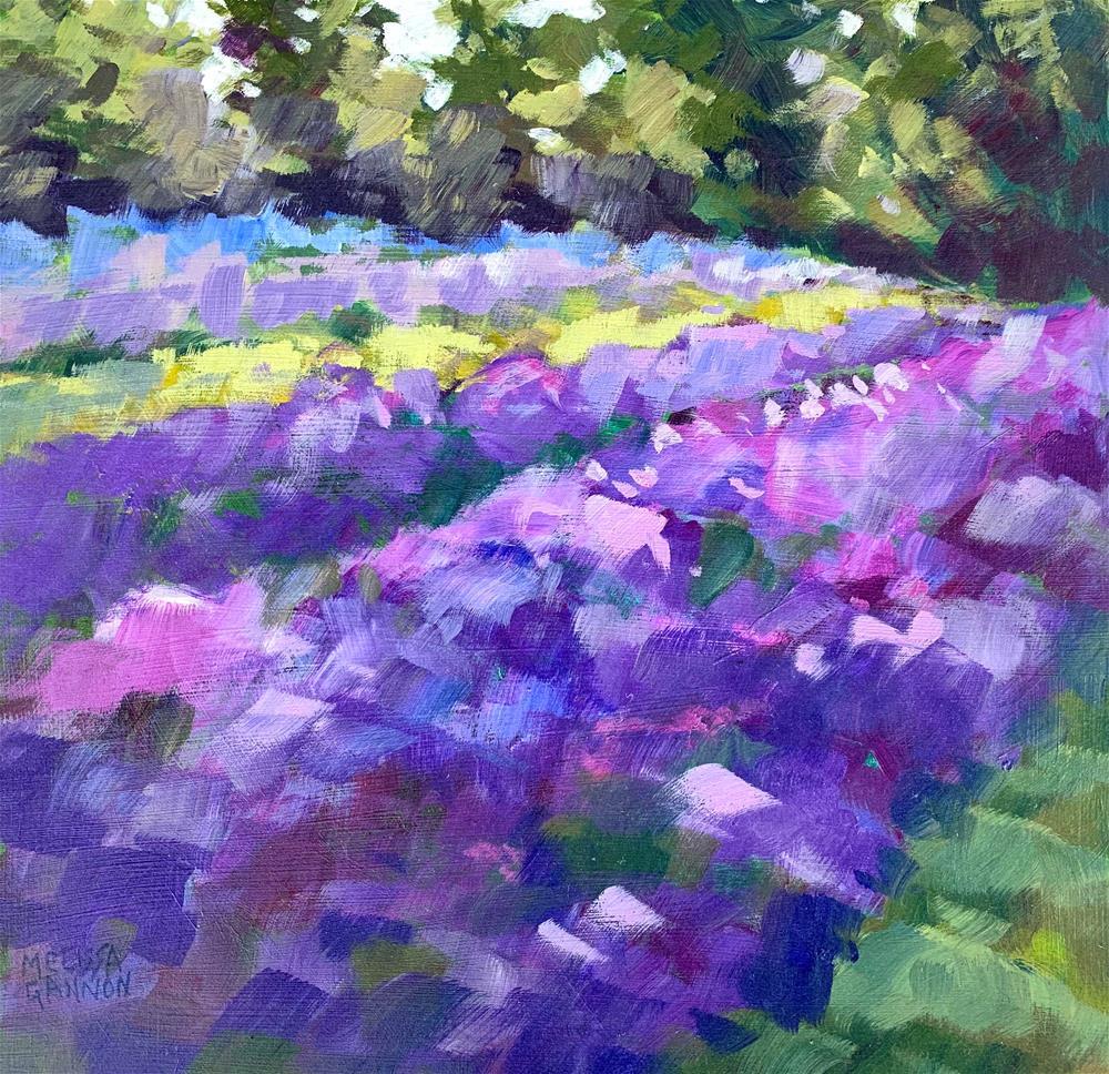 """""""Lavender Afternoon"""" original fine art by Melissa Gannon"""