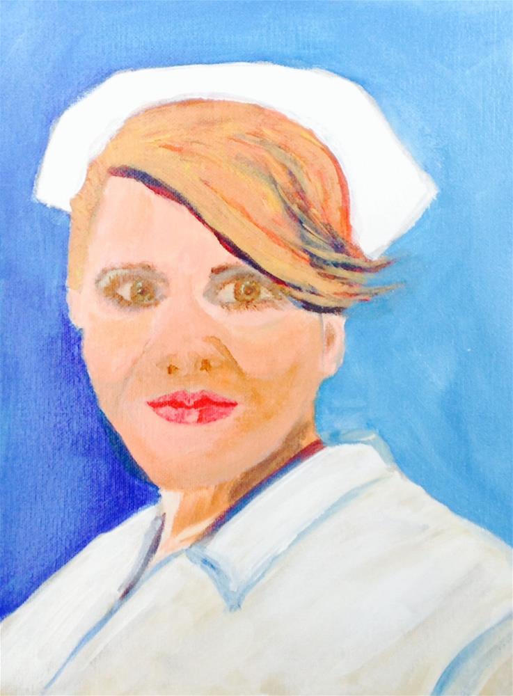 """""""Malissa"""" original fine art by Brenda Smith"""