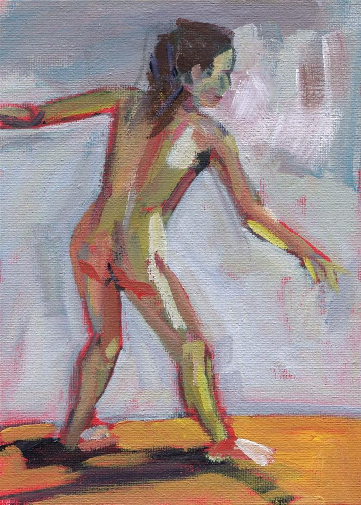 """0476: Figure Study"" original fine art by Brian Miller"