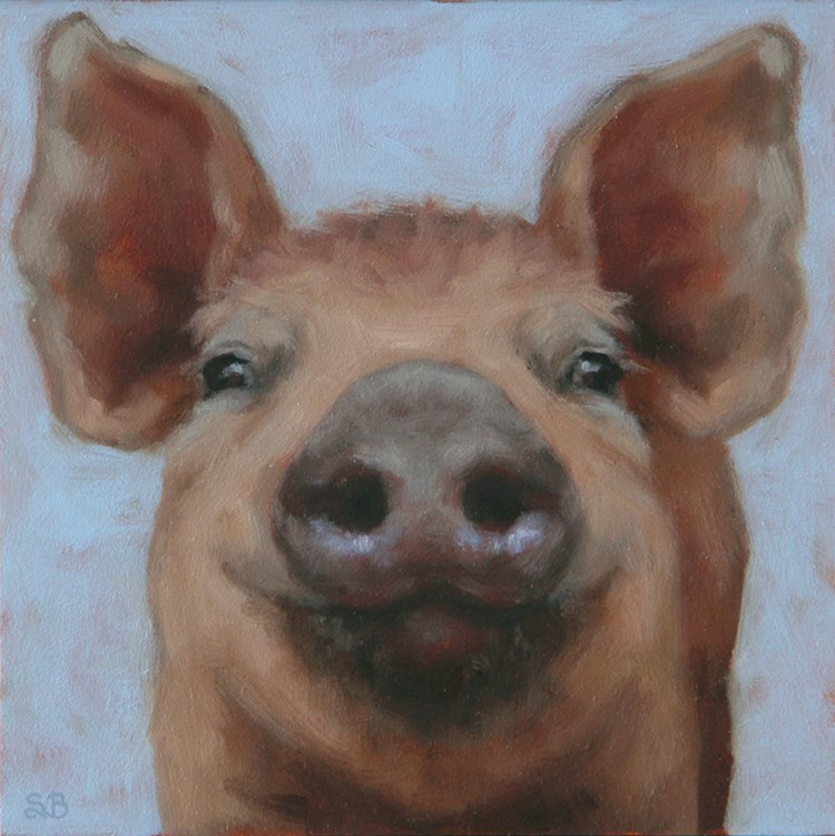 """Lynus"" original fine art by Sarah Becktel"