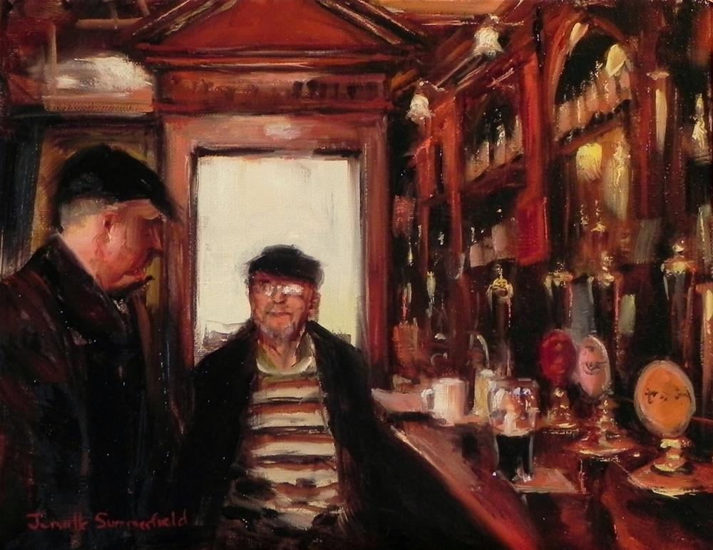 """The Regulars"" original fine art by Jonelle Summerfield"