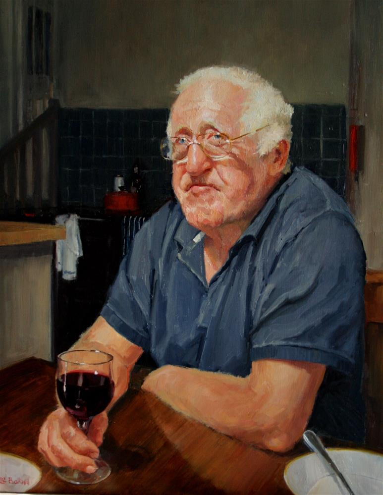 """Rioja Richard"" original fine art by Liz Balkwill"