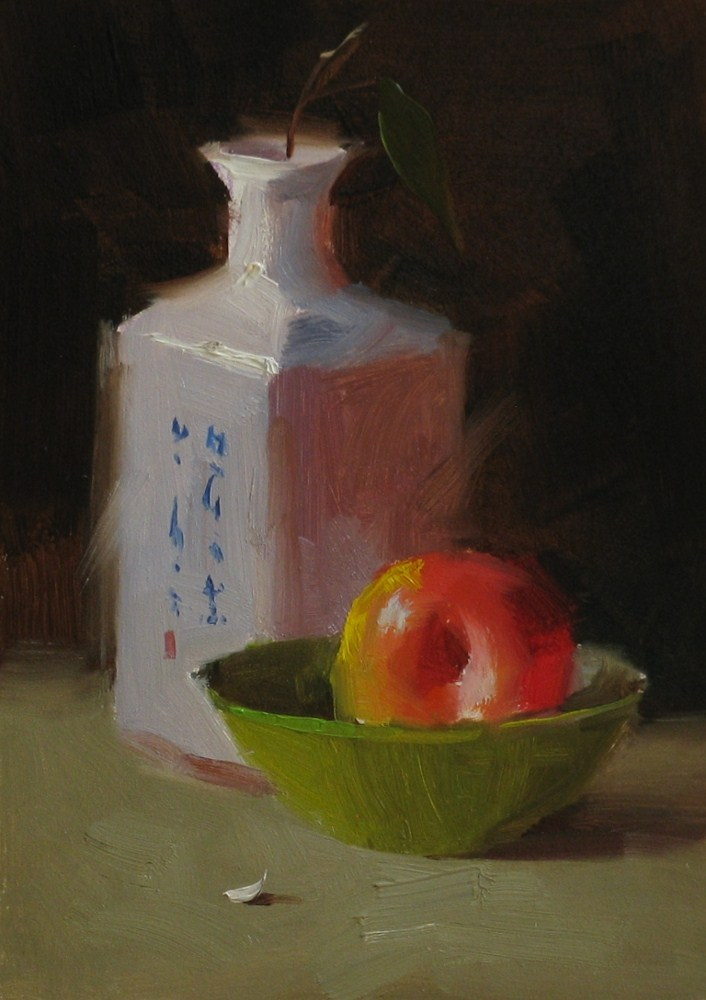 """Simply Sweet"" original fine art by Qiang Huang"