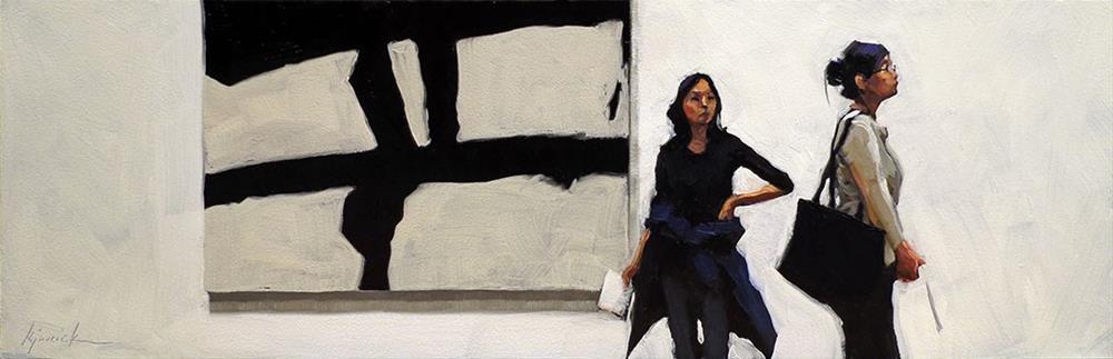 """Kline"" original fine art by Karin Jurick"