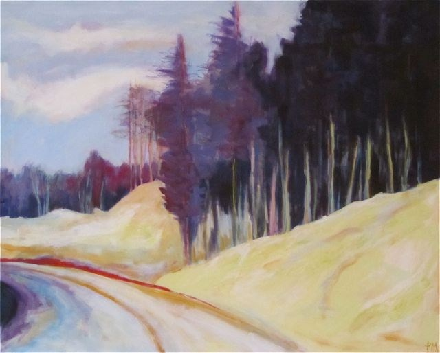 """""""Memory, Time and Place"""" original fine art by Patricia MacDonald"""