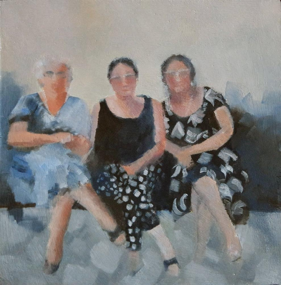 """""""Sisters"""" original fine art by Cathy Holtom"""