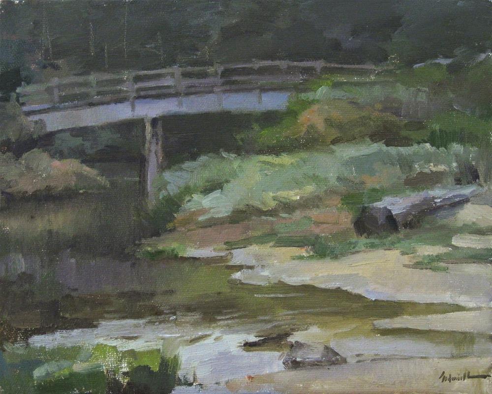 """The Bridge to Ona Beach"" original fine art by Sarah Sedwick"