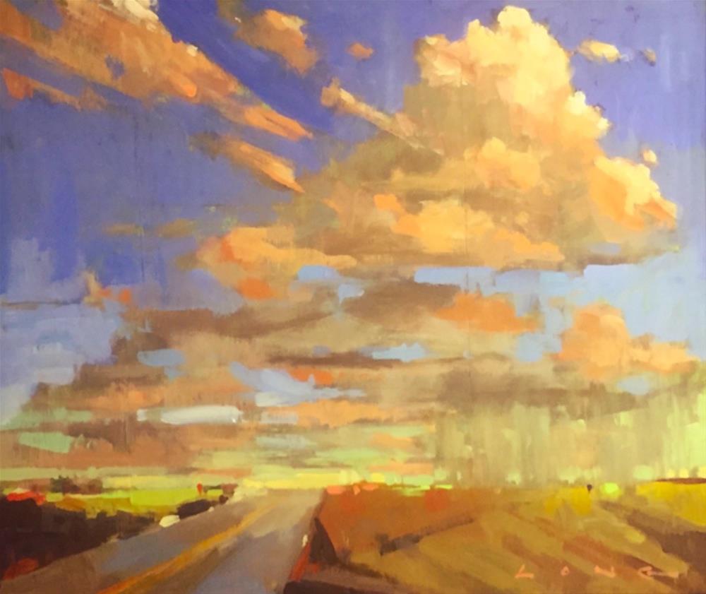 """El Paso VII"" original fine art by Chris Long"