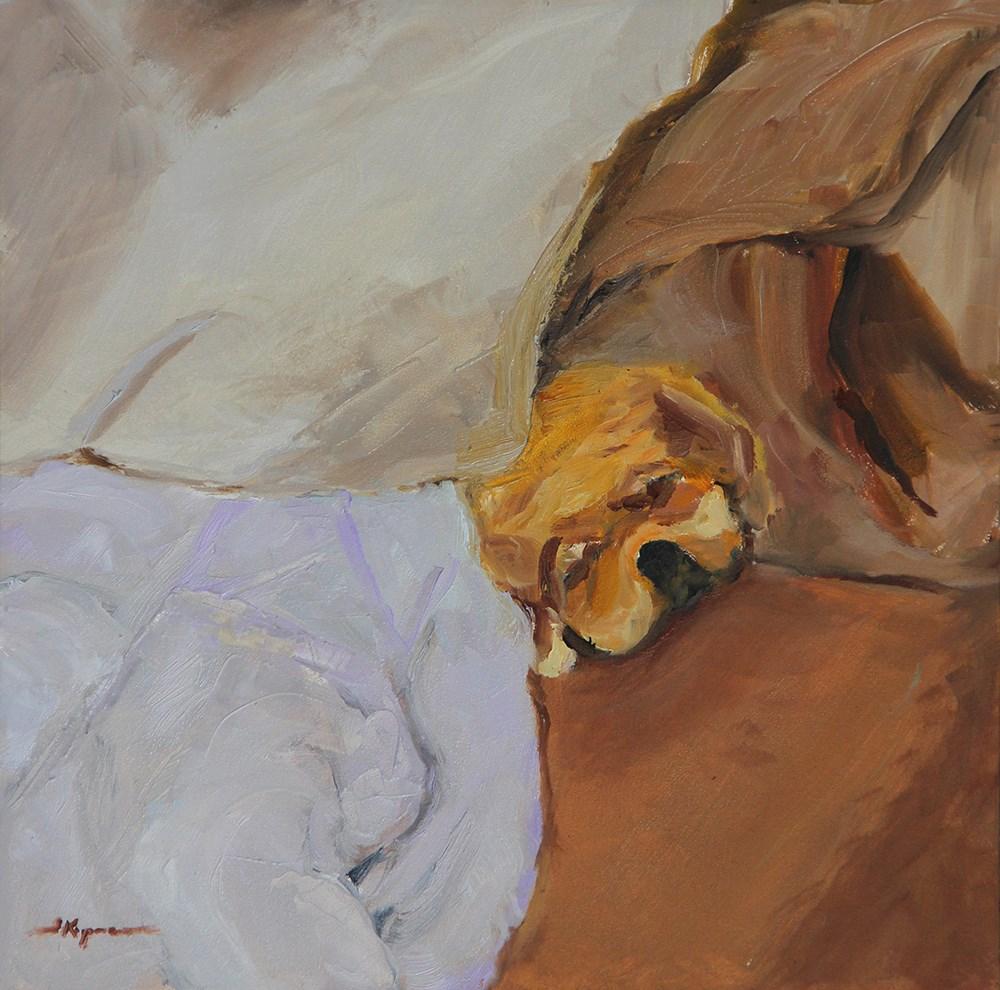 """""""Just Right"""" original fine art by Shelley Koopmann"""