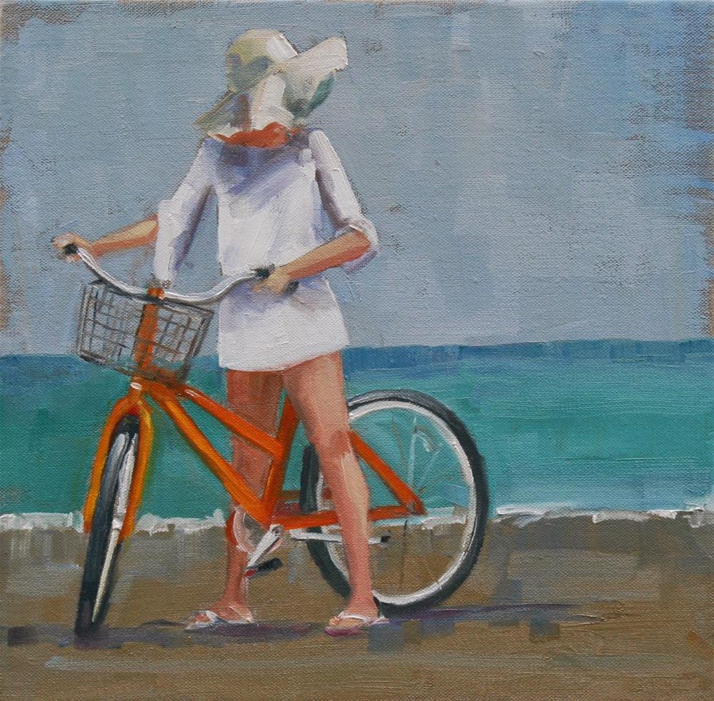 """in wait"" original fine art by Carol Carmichael"