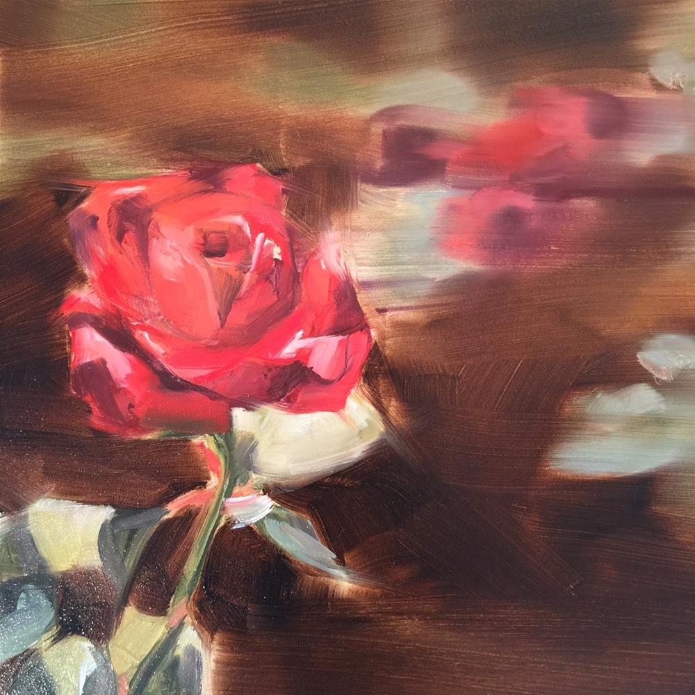 """500 Rose to Independence"" original fine art by Jenny Doh"