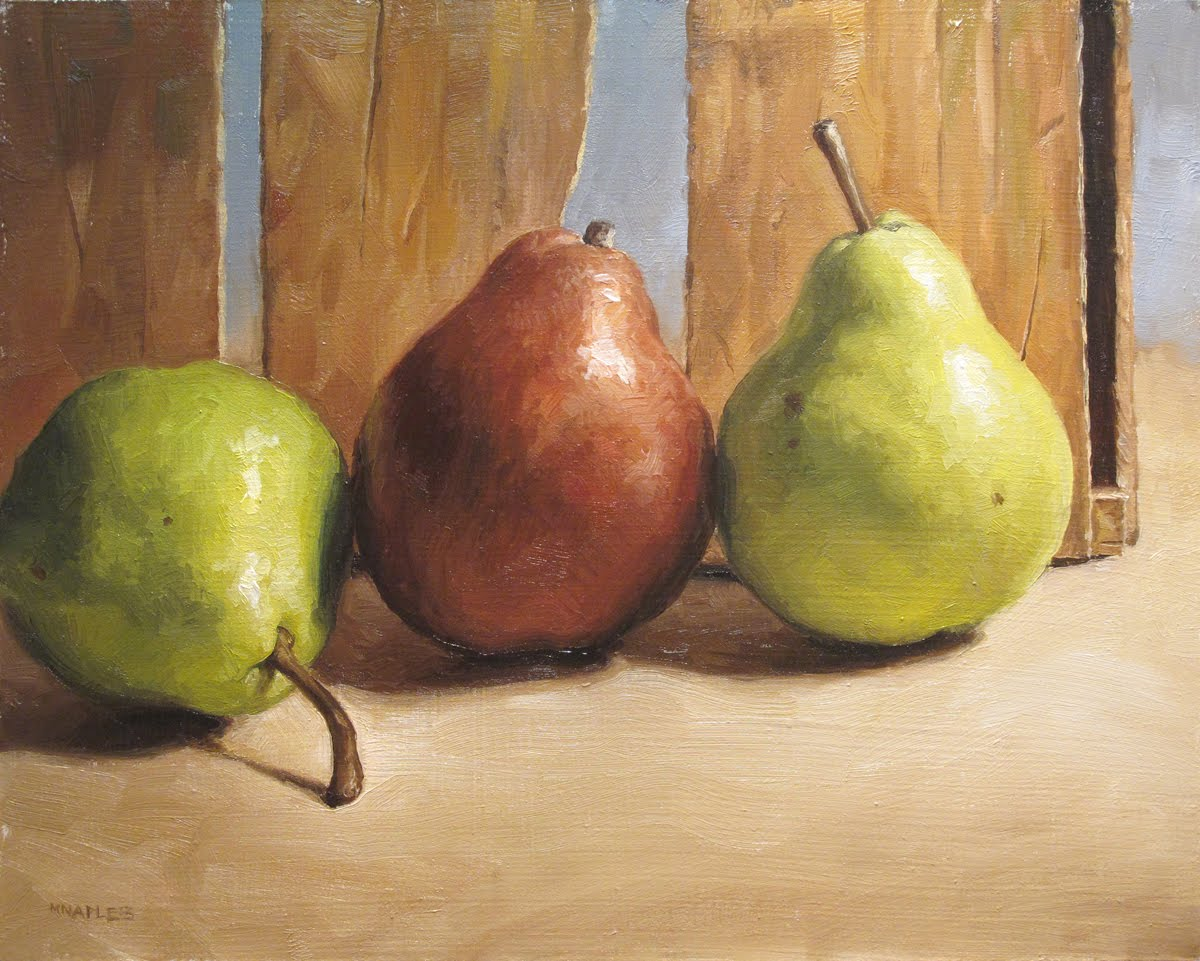 """Threesome"" original fine art by Michael Naples"