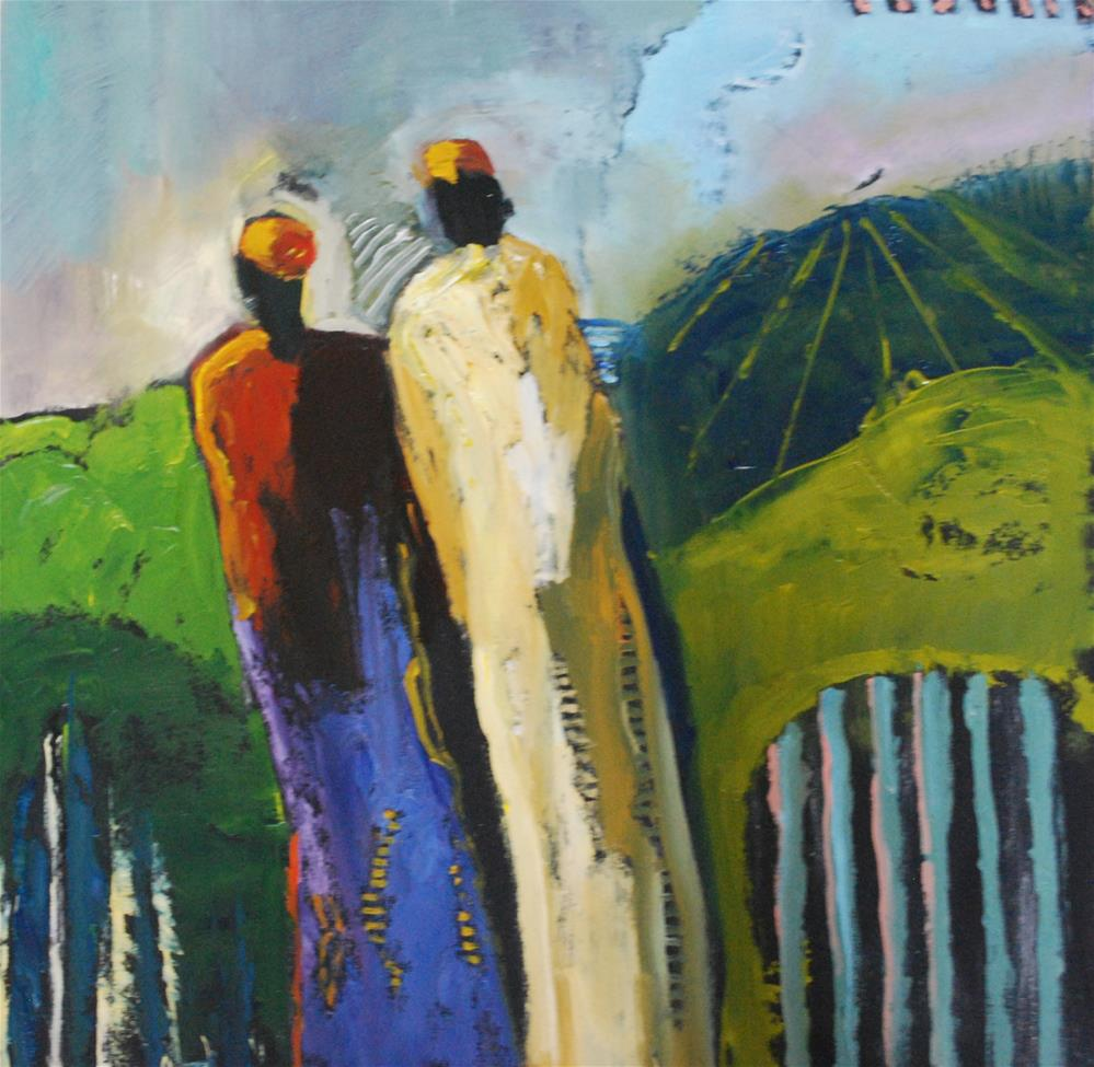 """On A Mission"" original fine art by Deborah Harold"