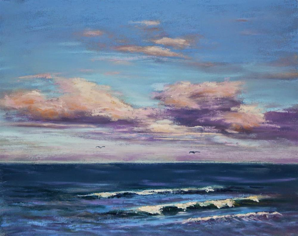 """""""Into the Distance"""" original fine art by Sharon Lewis"""
