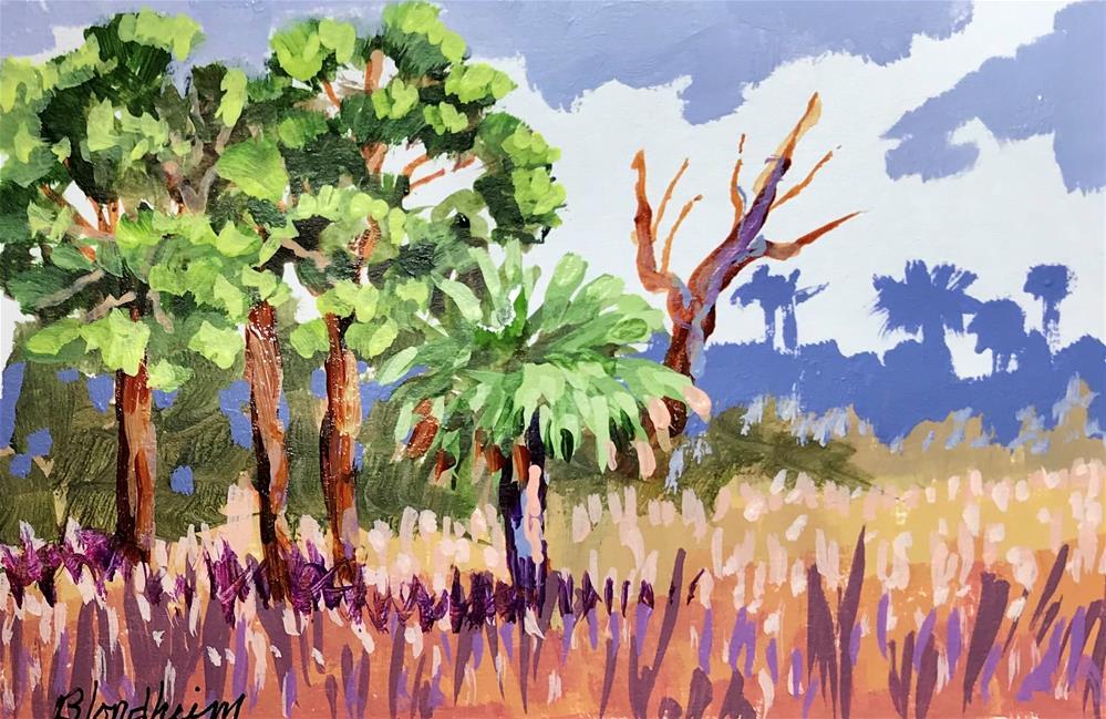"""Indian Pass"" original fine art by Linda Blondheim"