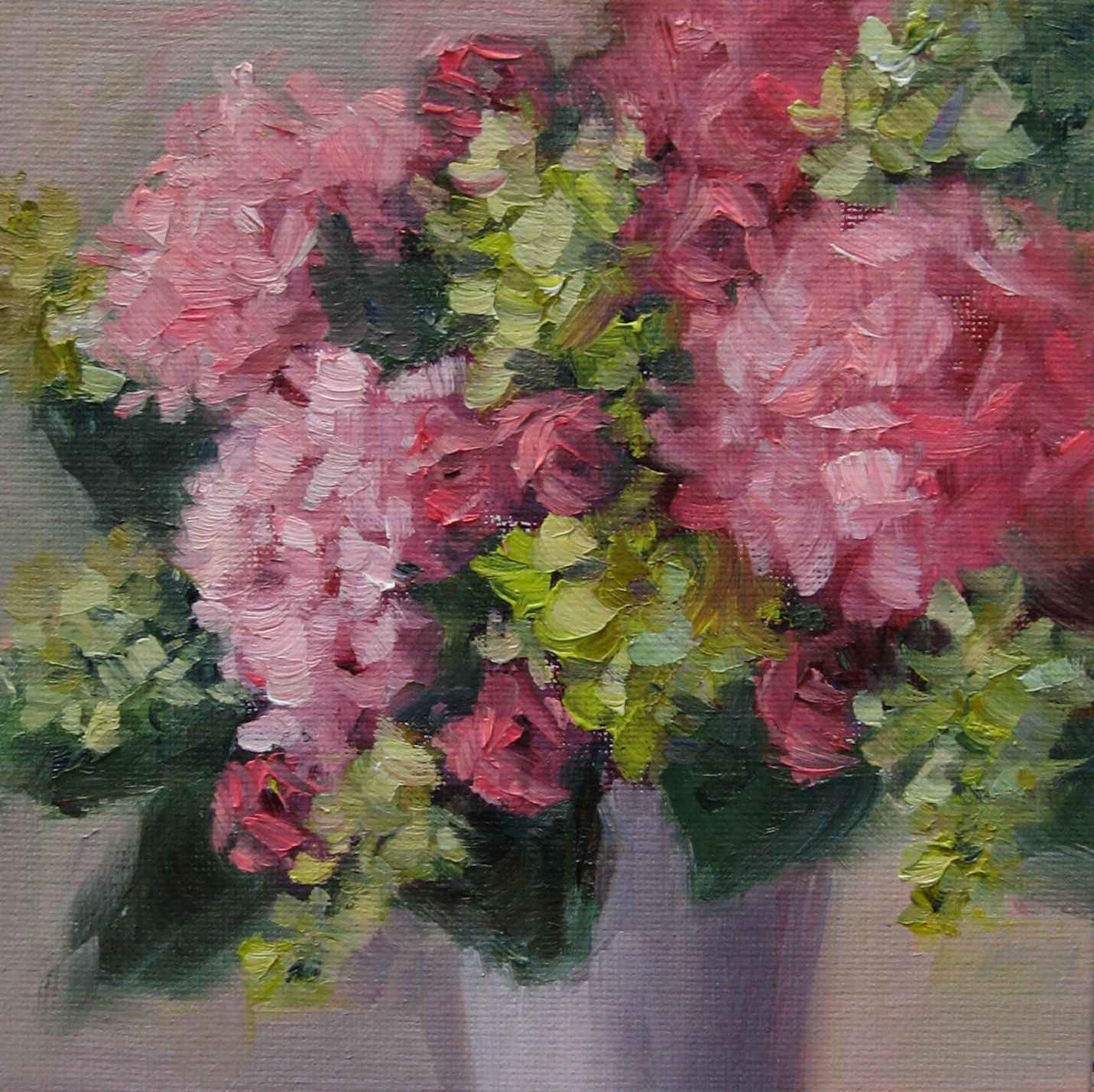 """Flower Study #50"" original fine art by Pat Fiorello"