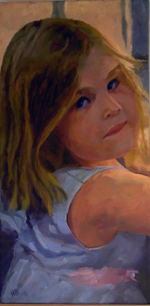 """""""Lexie"""" original fine art by Nina Brodsky"""