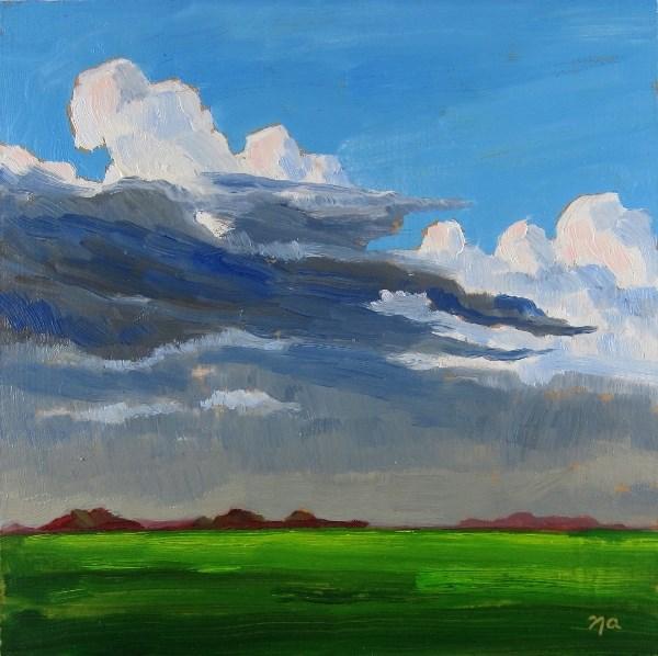 """Refreshed"" original fine art by Nicki Ault"