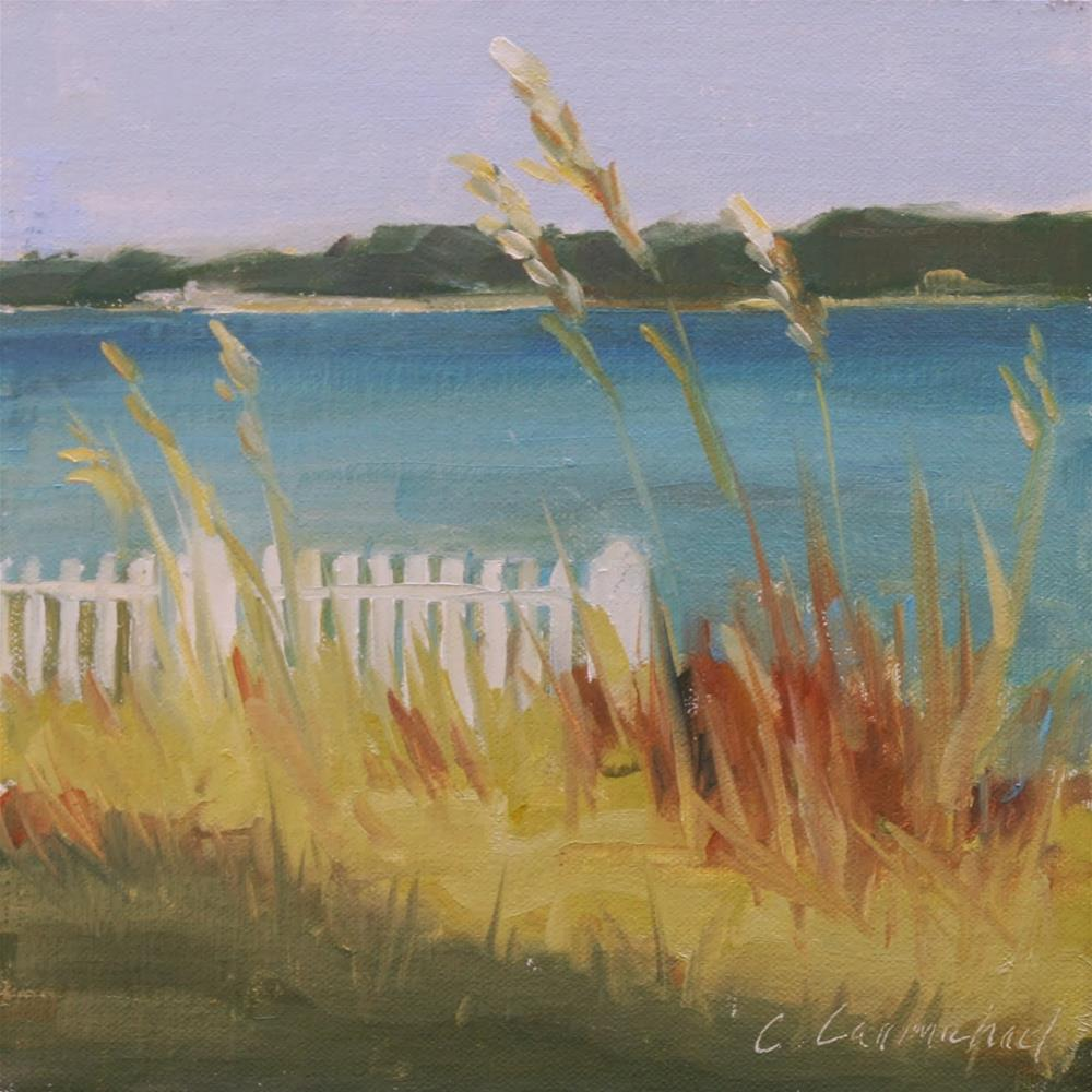 """pensacola sound view"" original fine art by Carol Carmichael"