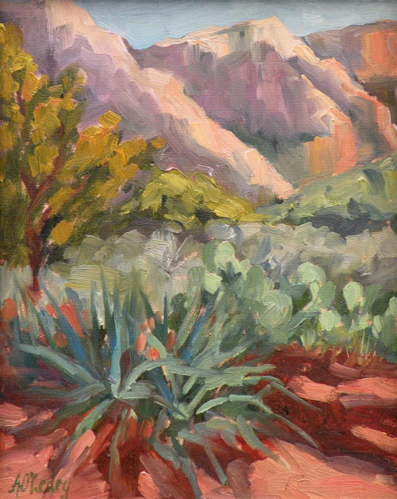 """""""Red Rock Country"""" original fine art by Alice O'Leary"""
