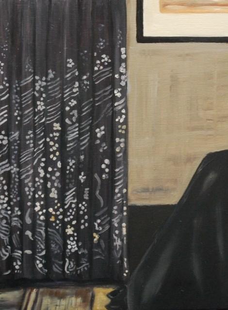 """""""Whistler's corner"""" original fine art by Beverley Phillips"""