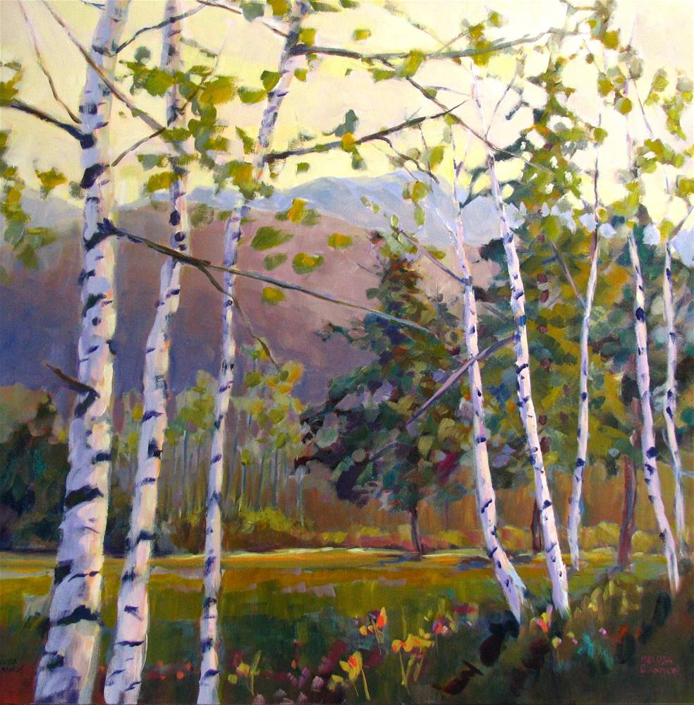 """Magic on the Mountains"" original fine art by Melissa Gannon"