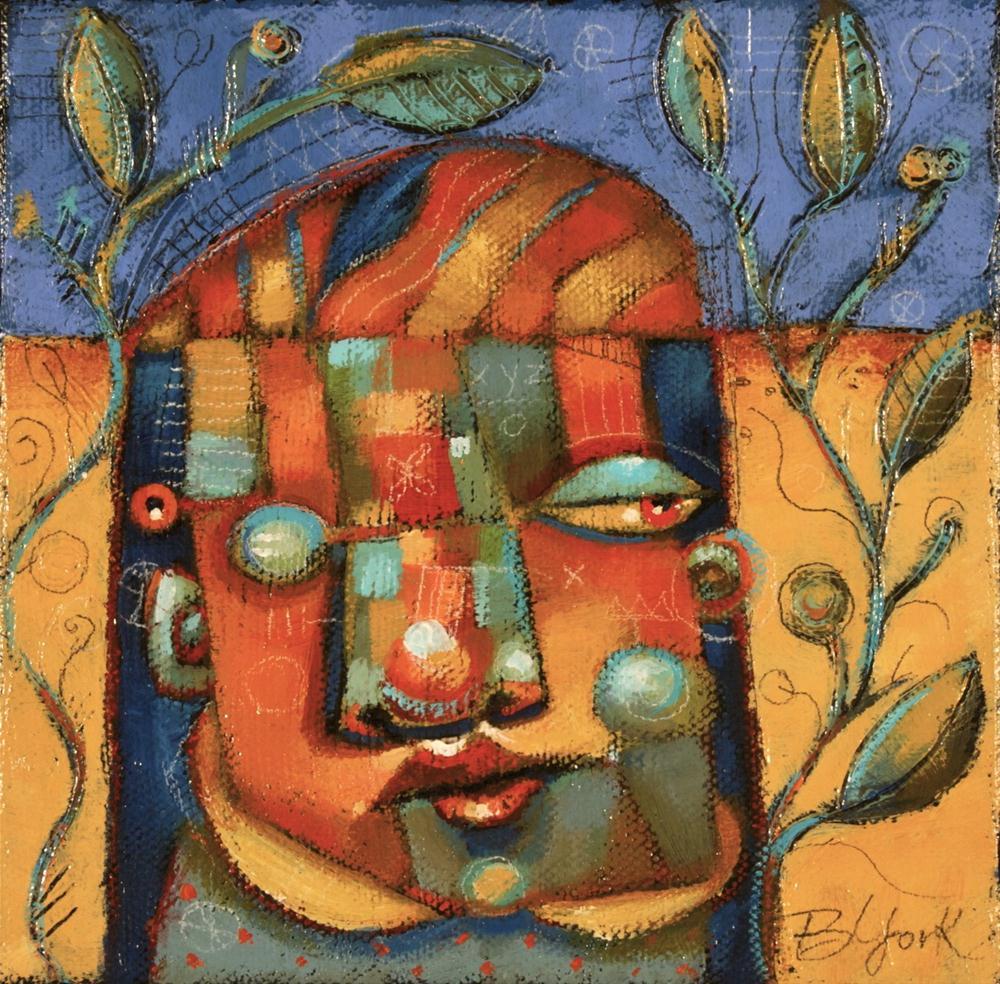 """An Eyeful"" original fine art by Brenda York"