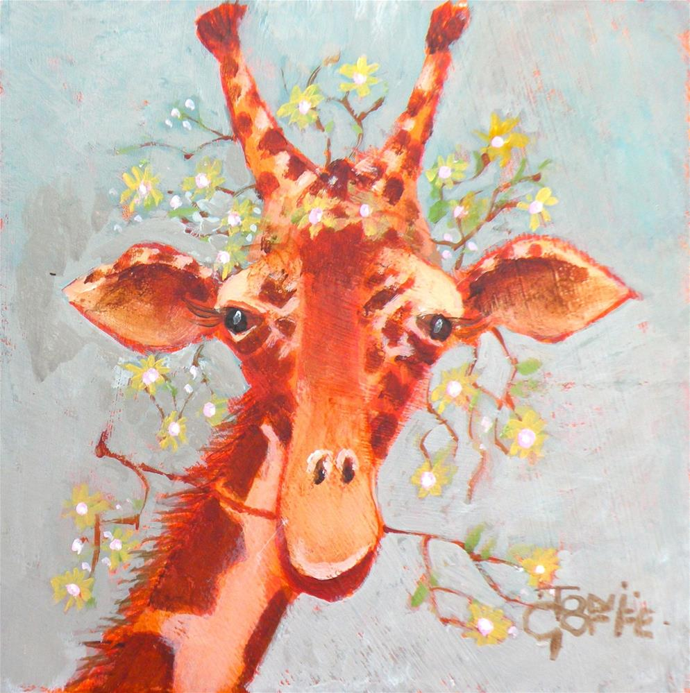 """""""Eating and Wearing"""" original fine art by Toni Goffe"""