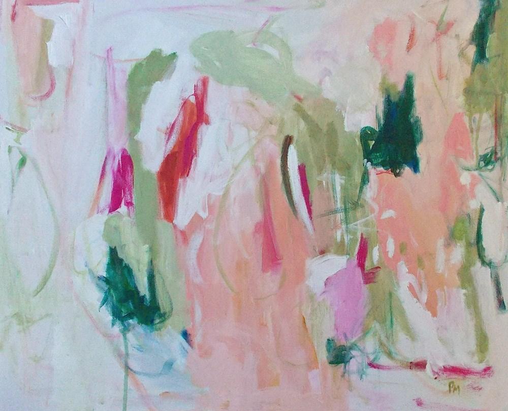 """""""Spring Torrent"""" original fine art by Pamela Munger"""