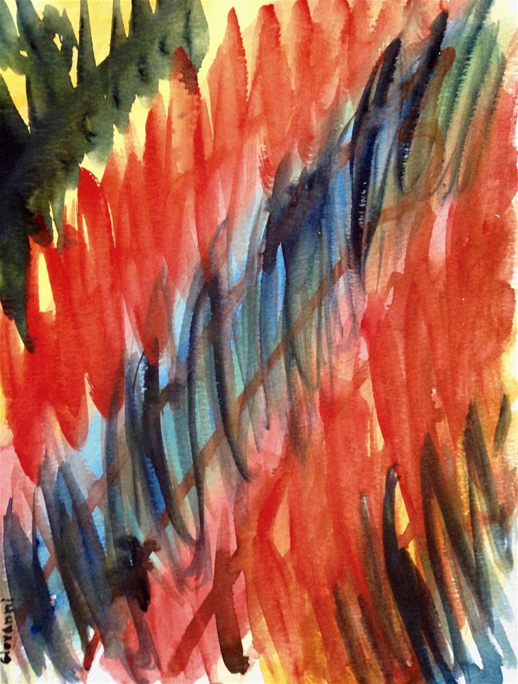 """""""Abstract #2"""" original fine art by Giovanni Antunez"""