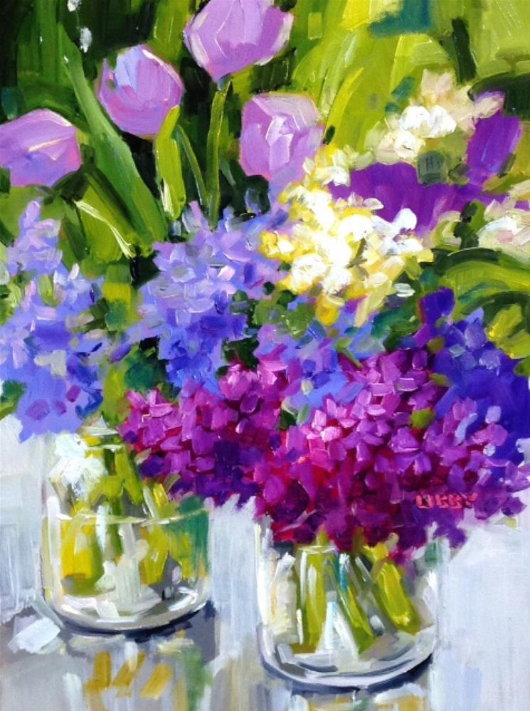 """""""Eye Catching"""" original fine art by Libby Anderson"""