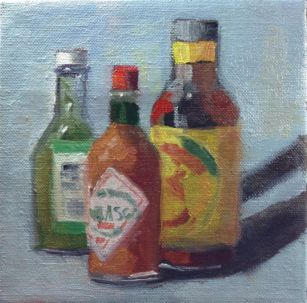 """Some like it hot"" original fine art by Carol Josefiak"