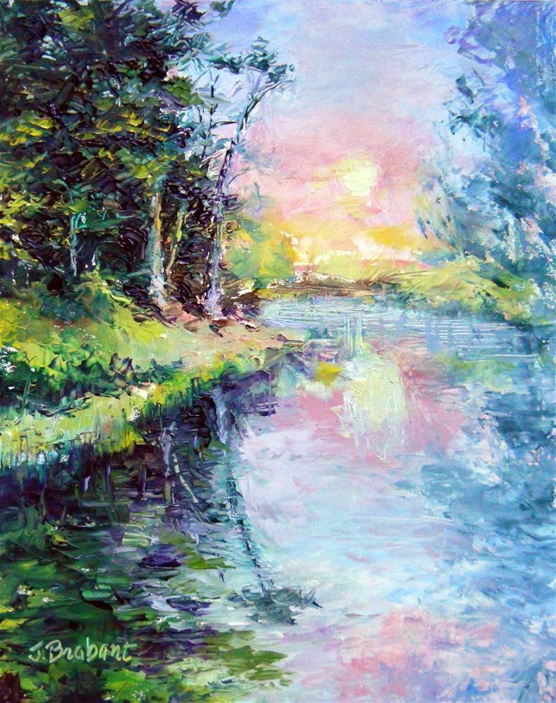 """Morning Glow"" original fine art by Jill Brabant"