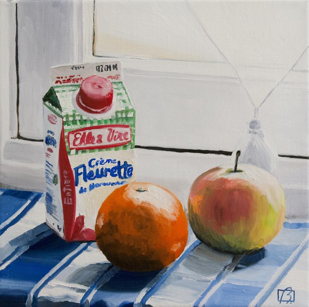 """Creme Fleurette"" original fine art by Andre Beaulieu"
