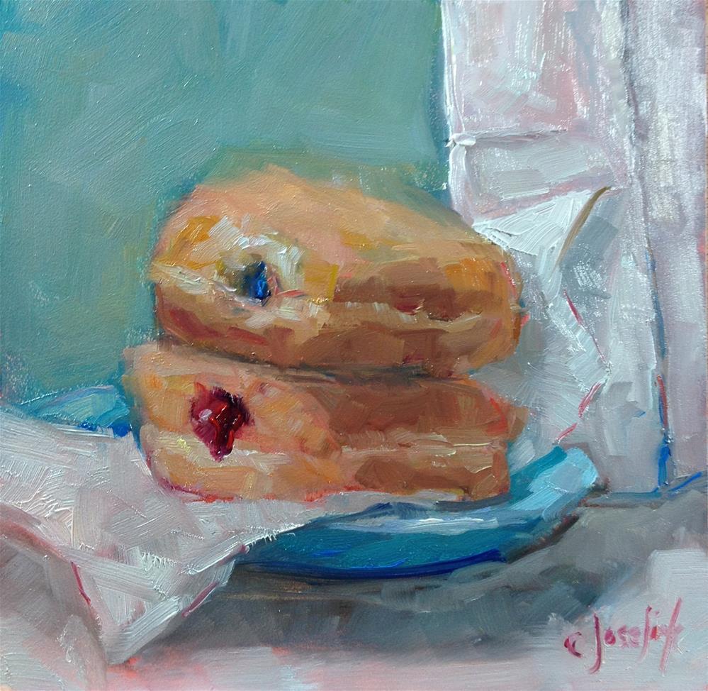 """Paul's Donuts"" original fine art by Carol Josefiak"