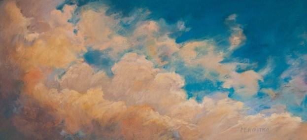 """""""Blue Sky"""" original fine art by Sarah Peroutka"""