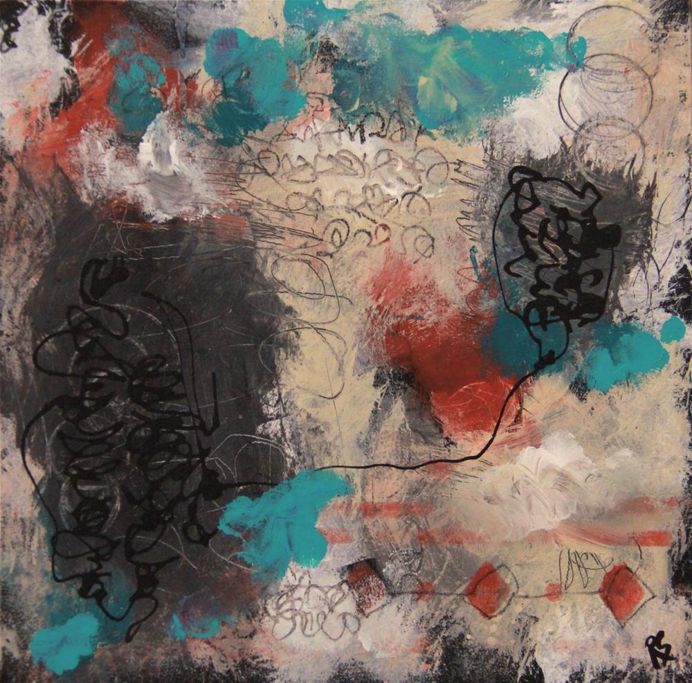 """""""The Lonely Road"""" original fine art by Roberta Schmidt ArtcyLucy"""