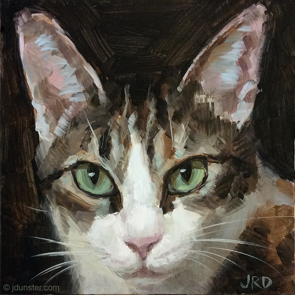"""Big Ears"" original fine art by J. Dunster"