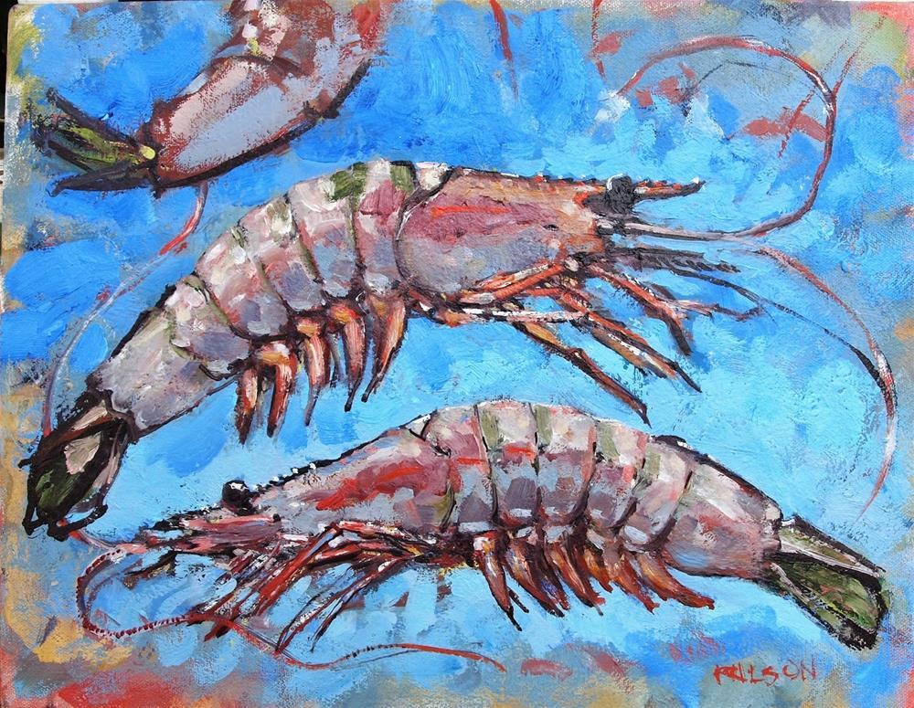 """East West"" original fine art by Rick Nilson"