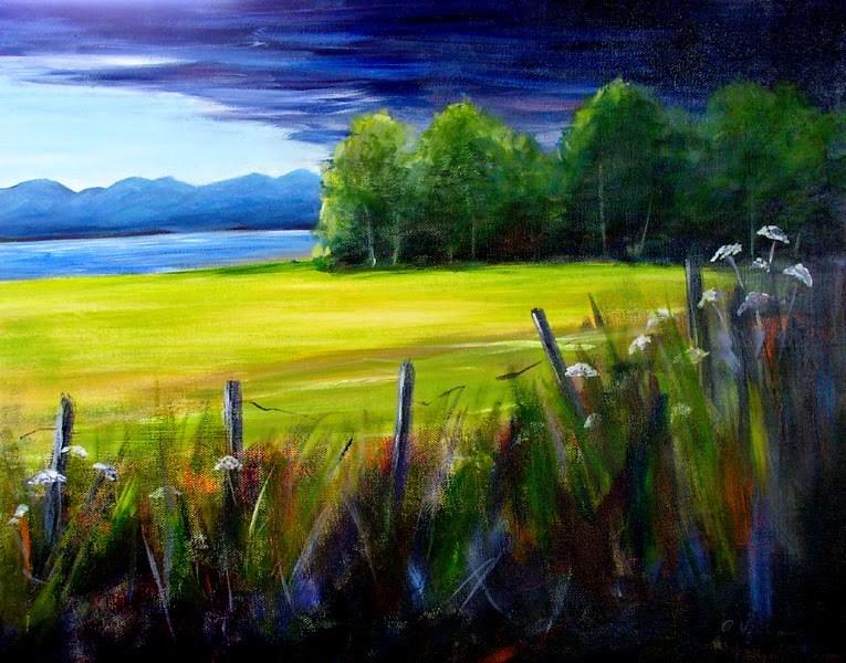 """""""Clearing Skies"""" original fine art by Anna Vreman"""