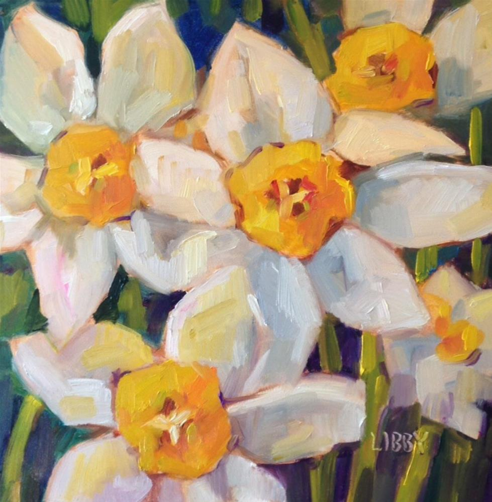 """""""March Madness"""" original fine art by Libby Anderson"""