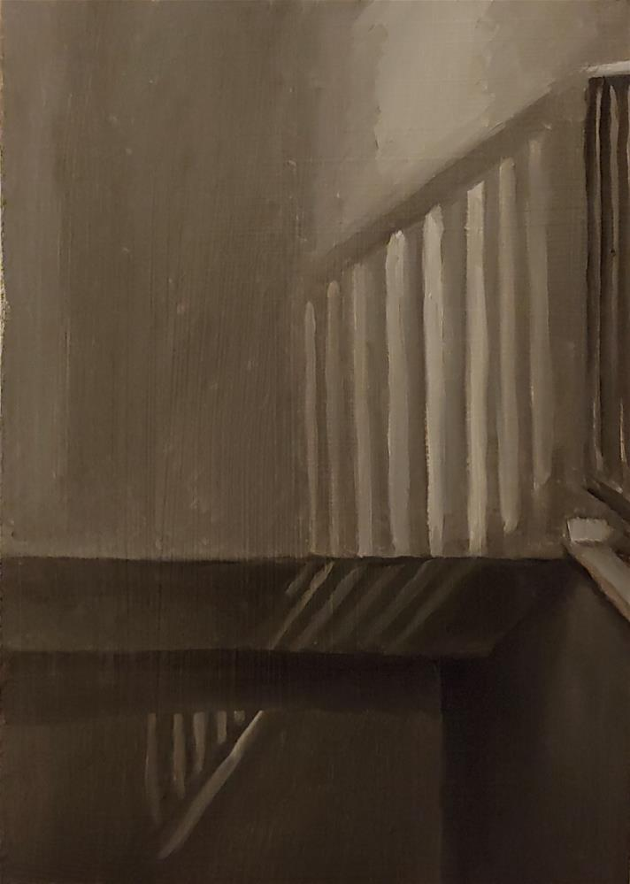 """Hallway Sketch 1"" original fine art by Edward Watson"