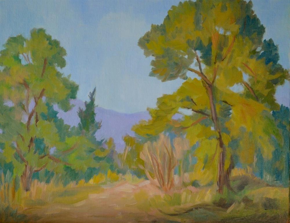 """On My Path"" original fine art by Cathy Bergsing"